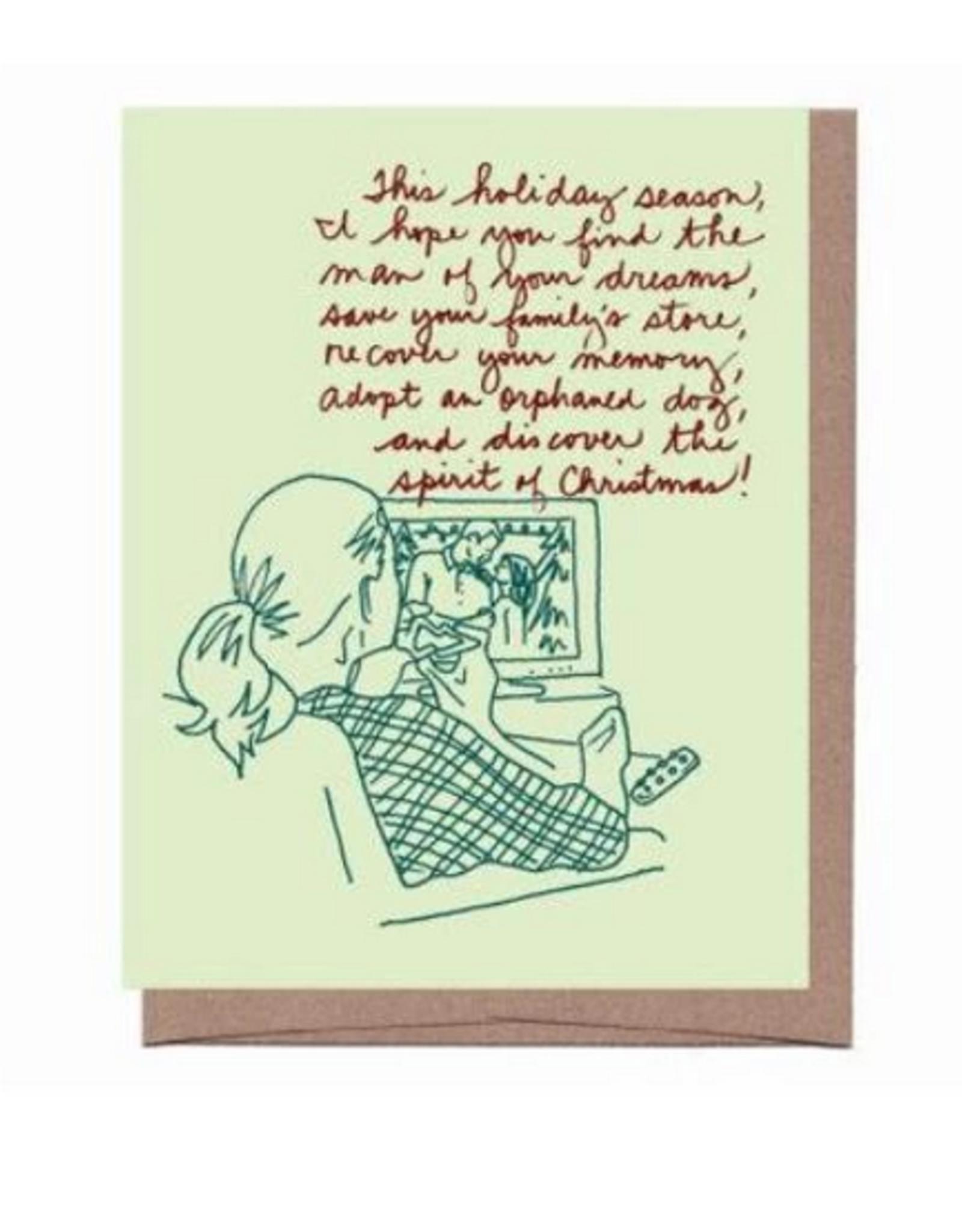 Holiday Movies Greeting Card