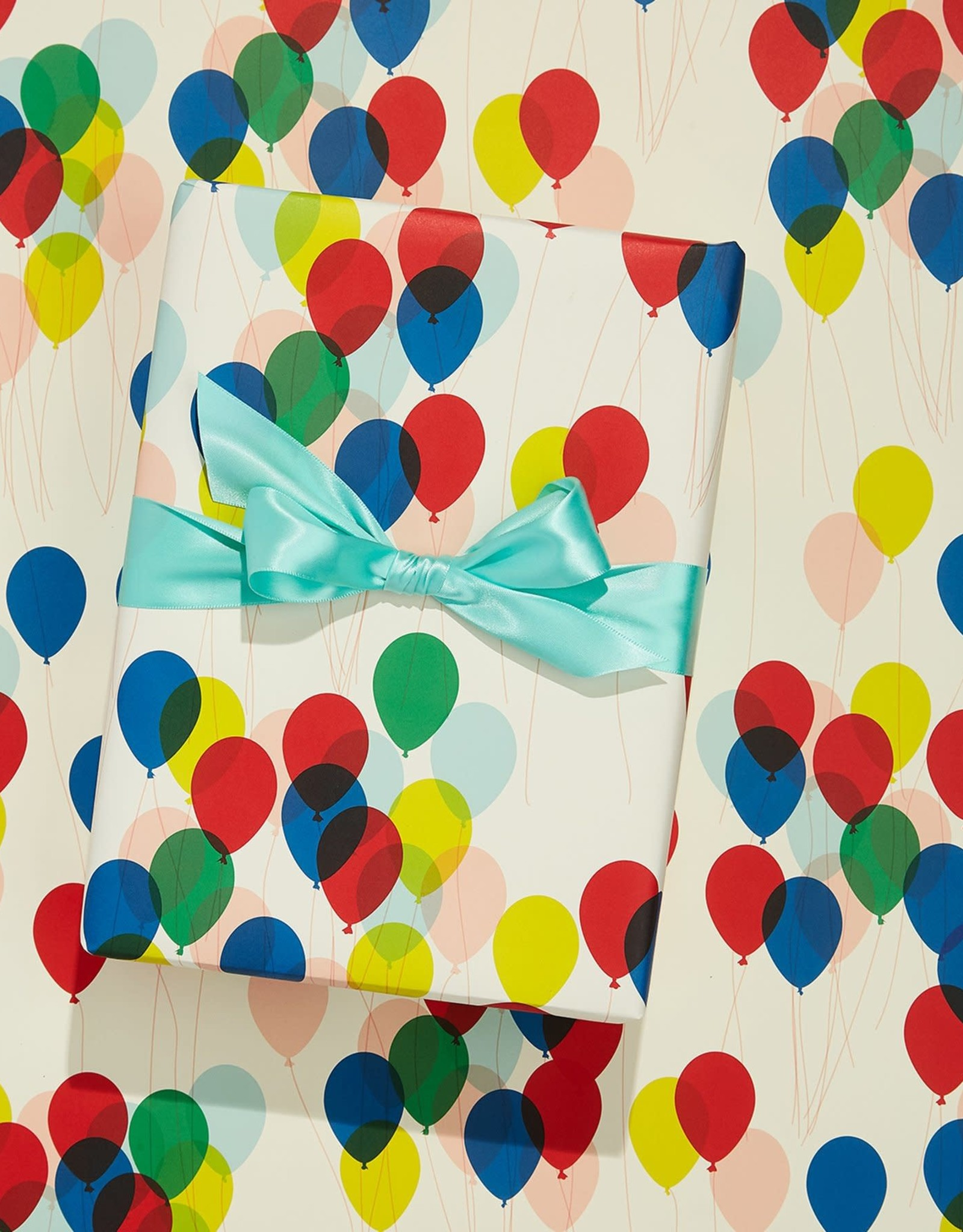 Snow & Graham Balloons Wrapping Paper