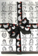 La Familia Green First Ladies Wrapping Paper