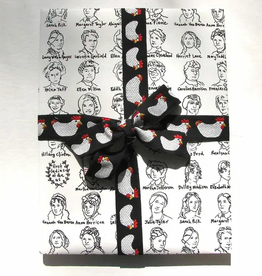 First Ladies Wrapping Paper