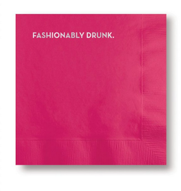 Fashionably Drunk Napkins