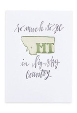 Montana Letterpress Print