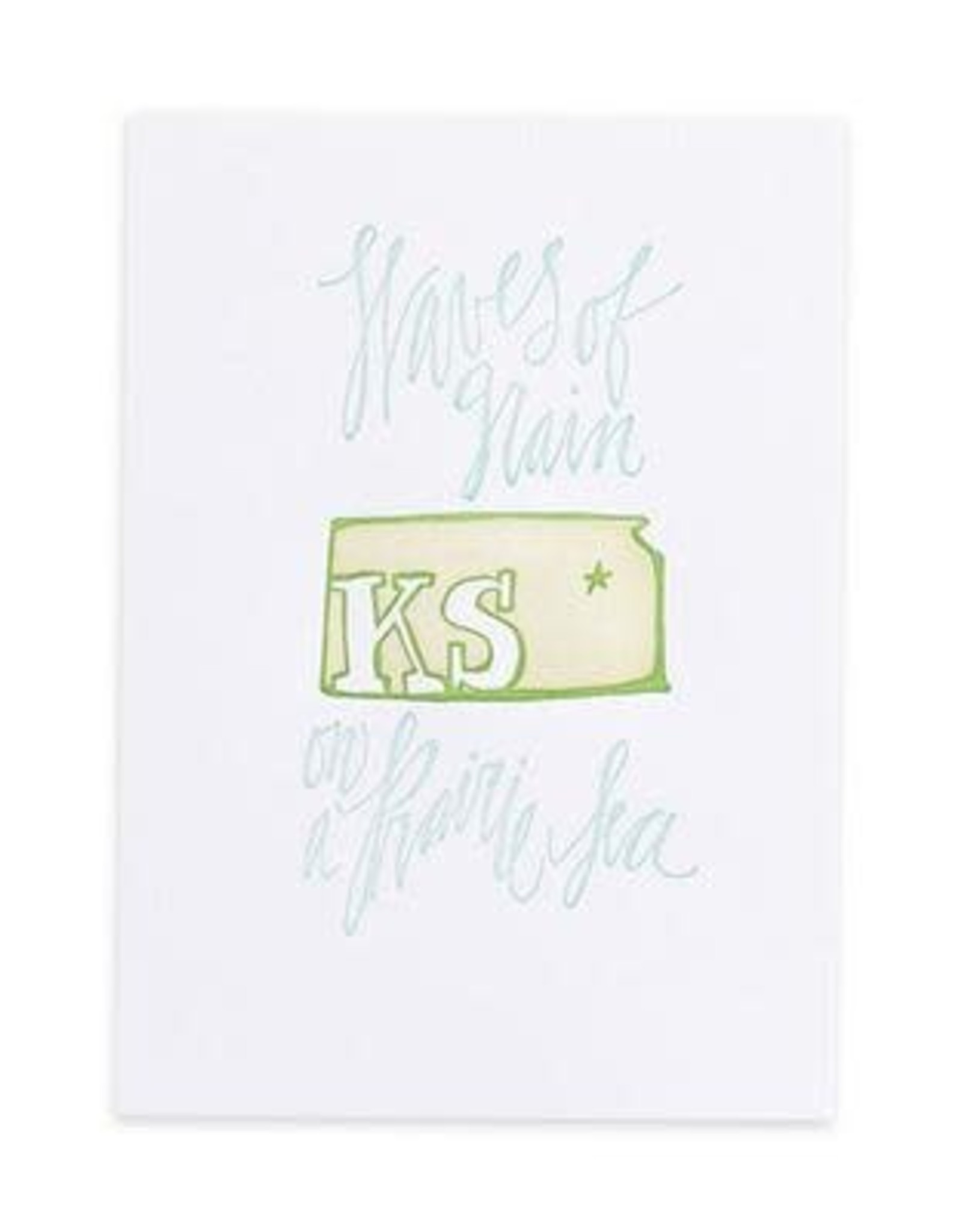 Kansas Letterpress Print
