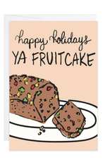 Happy Holidays, Ya Fruitcake Mini Card