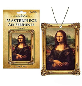 Masterpiece Mona Lisa Air Freshener