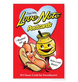 Love Note Postcard Book