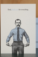 Oddball Press Dad, Thank You For Everything Greeting Card