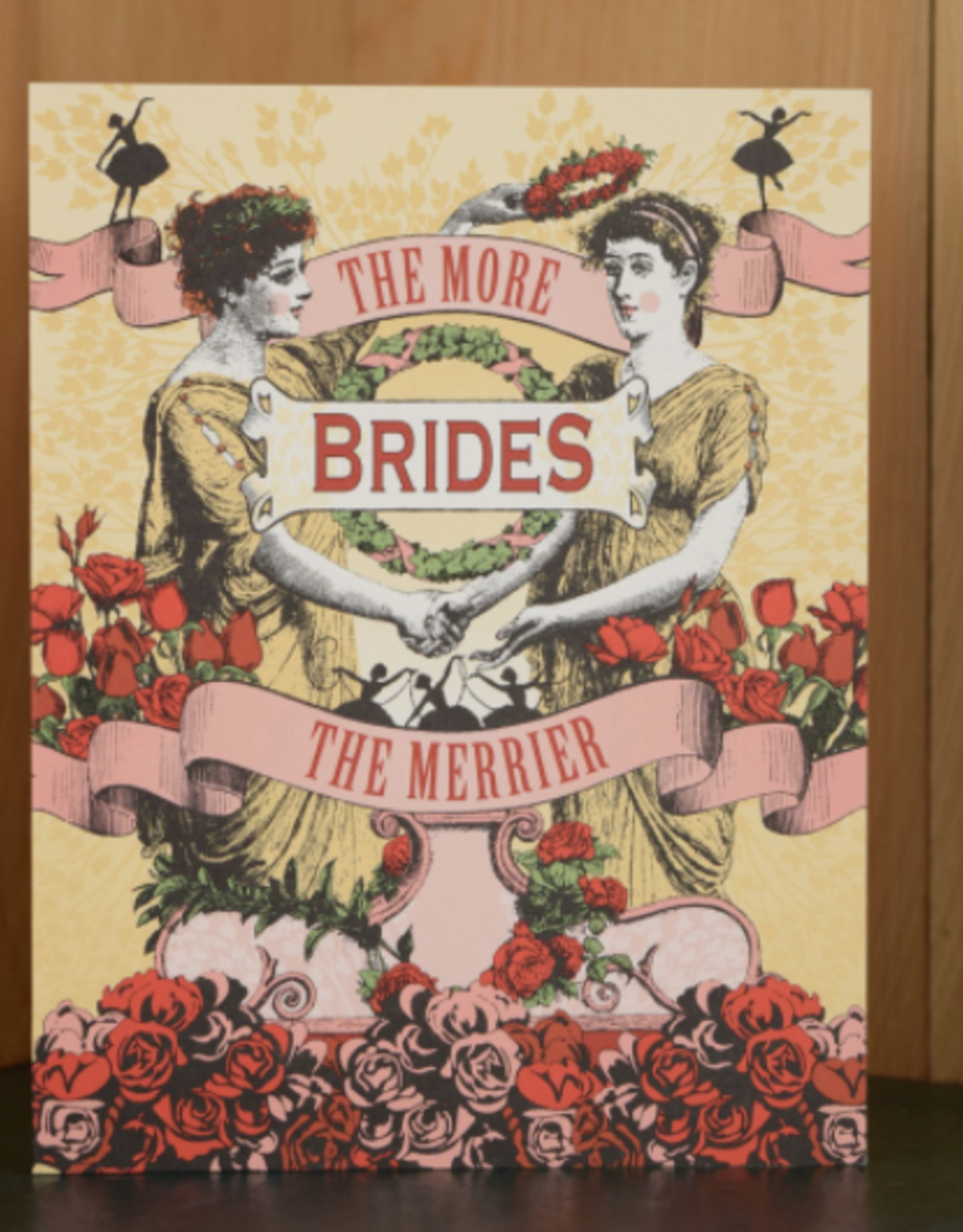 Oddball Press The More Brides the Merrier Greeting Card
