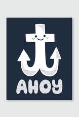 Ahoy Anchor Print