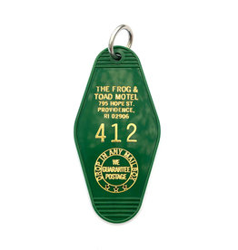 Frog & Toad Motel Keychain