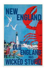 New England Old England Print