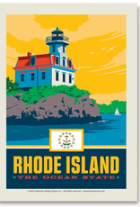 Rhode Island the Ocean State Sticker