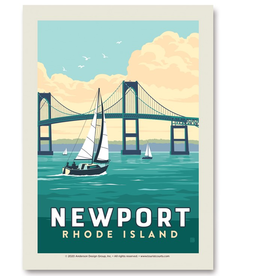 Newport Bridge Postcard