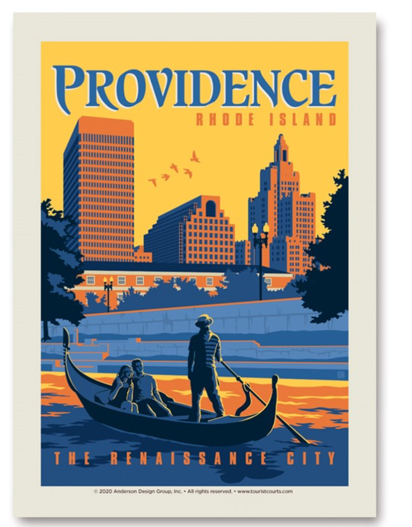 Providence, RI - The Renaissance City Print