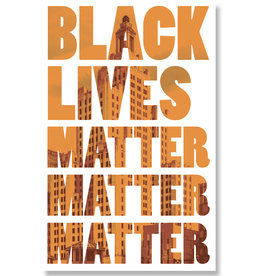 Black Lives Matter Protest Poster (IN STORE PICK-UP ONLY)