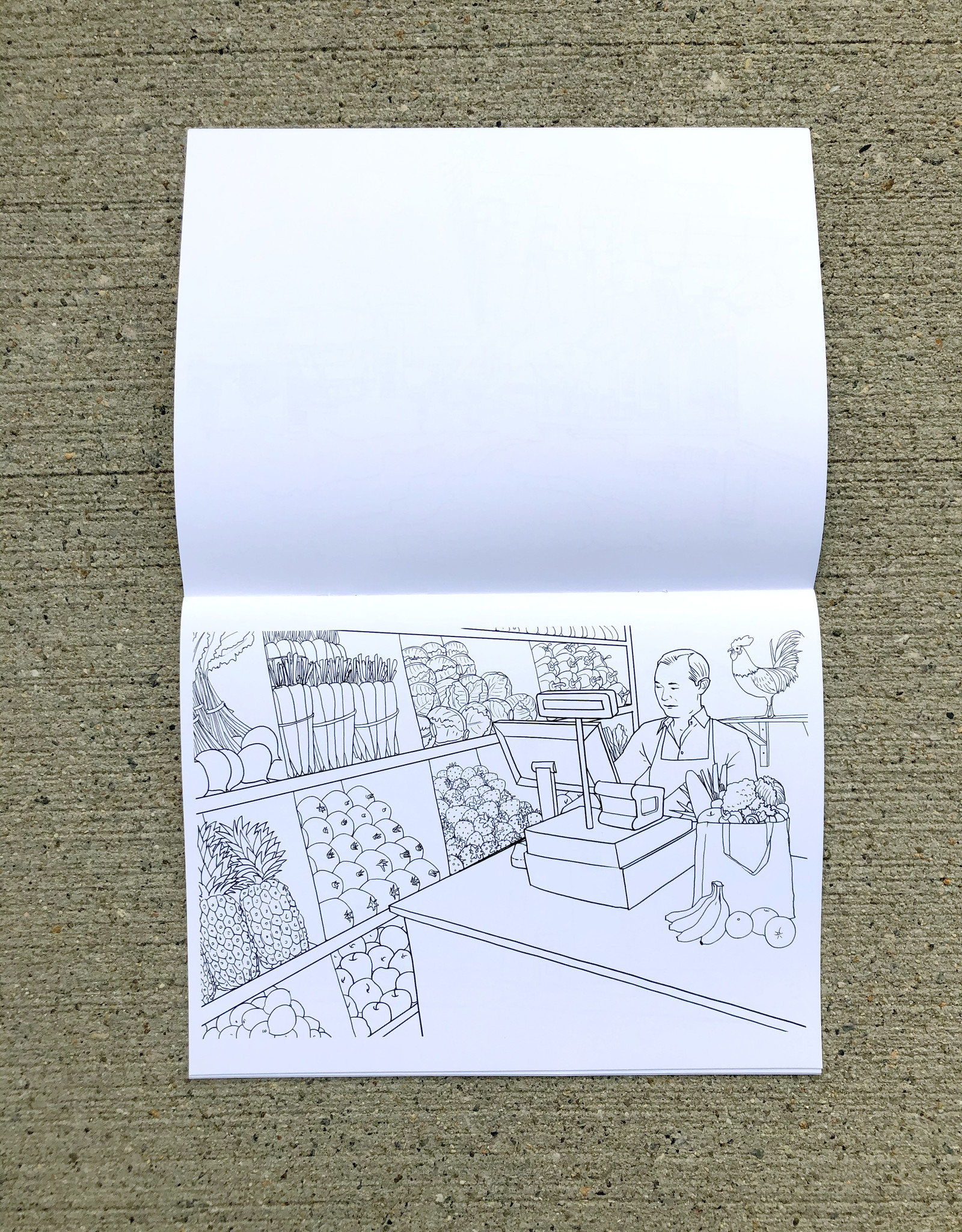 "Color RI ""Essential Employees"" Coloring Book"