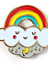 Rainbow Cloud Enamel Pin