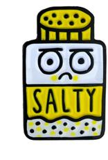 Salty Enamel Pin