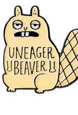 Uneager Beaver Enamel Pin