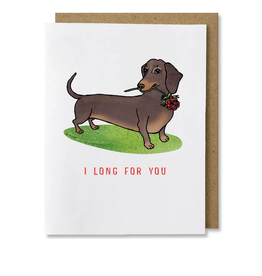 I Long For You Greeting Card