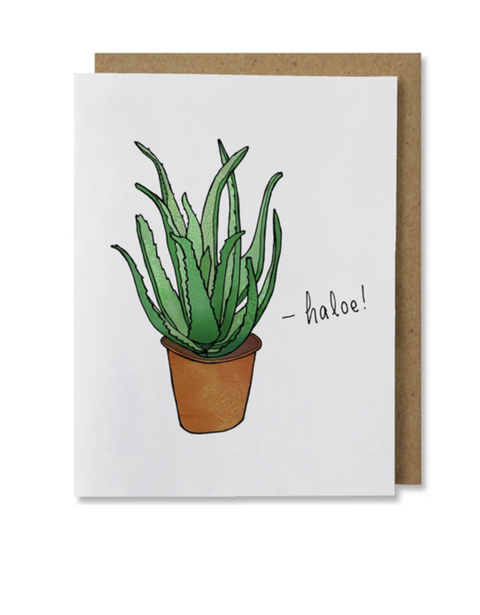 Haloe! Greeting Card