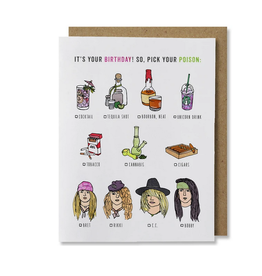 Pick Your Poison Greeting Card