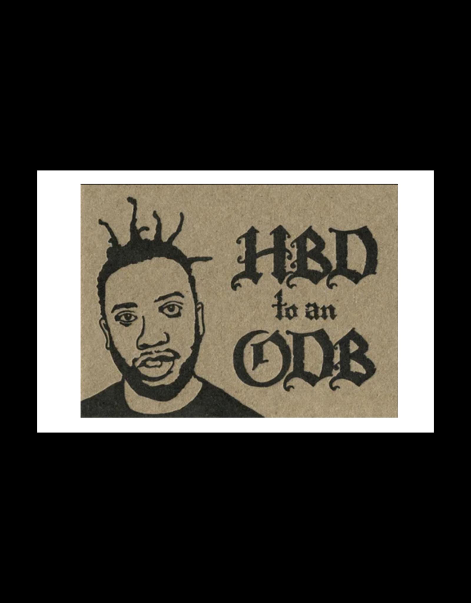 HBD To An ODB Greeting Card