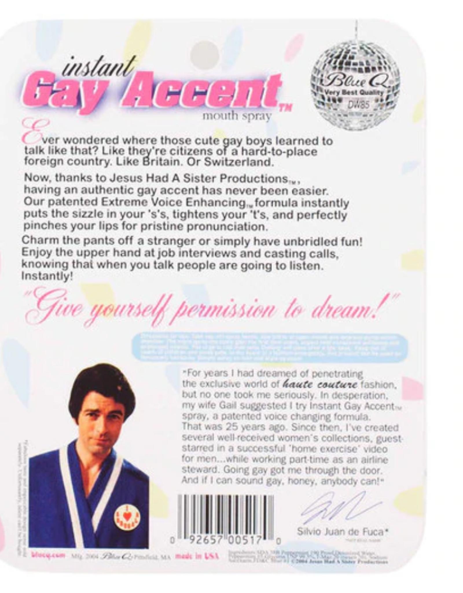 Instant Gay Accent Breath Spray