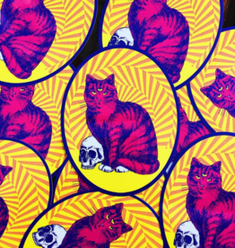 Groovy Cat Sticker