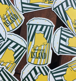 Rhode Island Frozen Lemonade Sticker