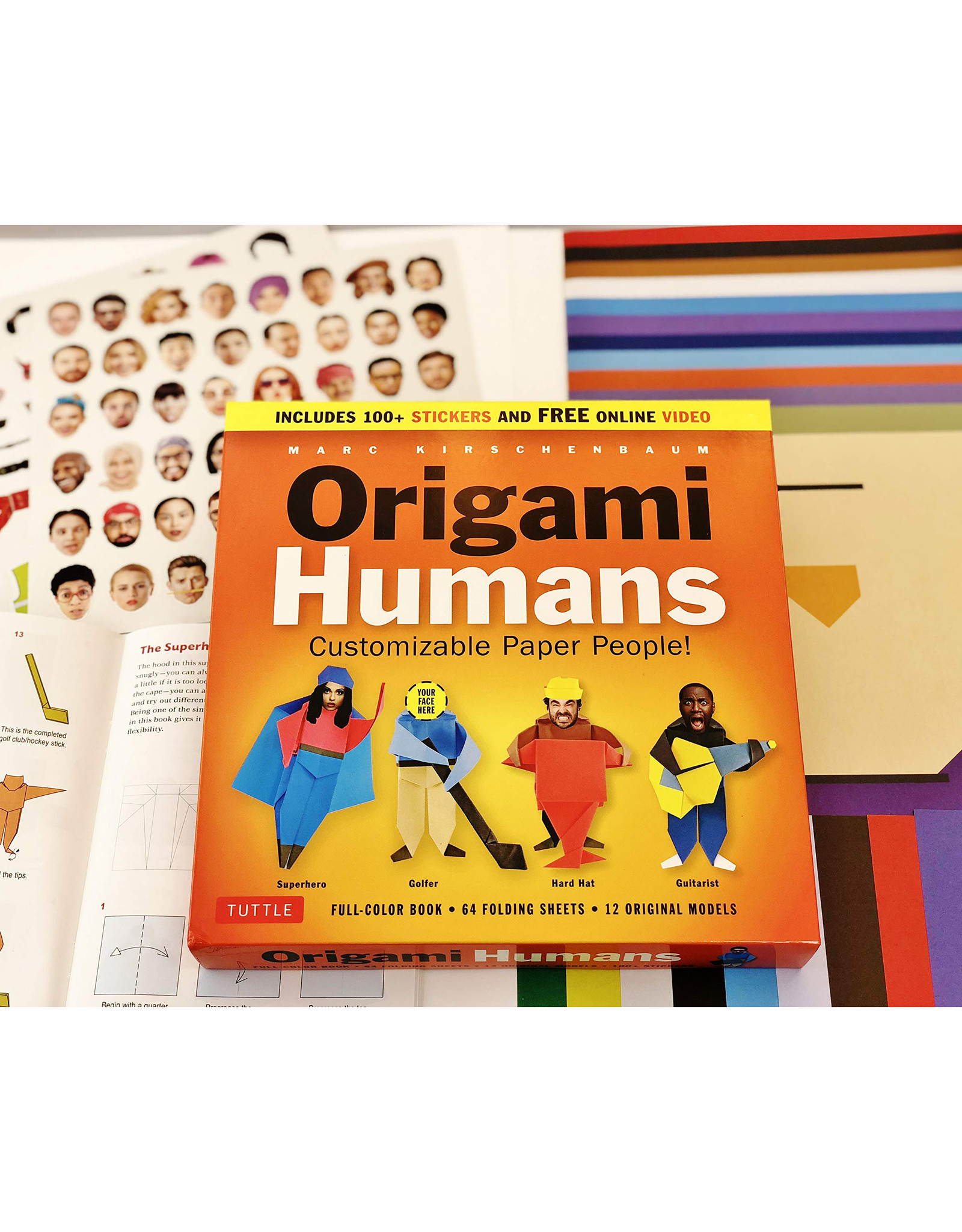 Origami Humans