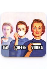 Tea Coffee Vodka Coaster