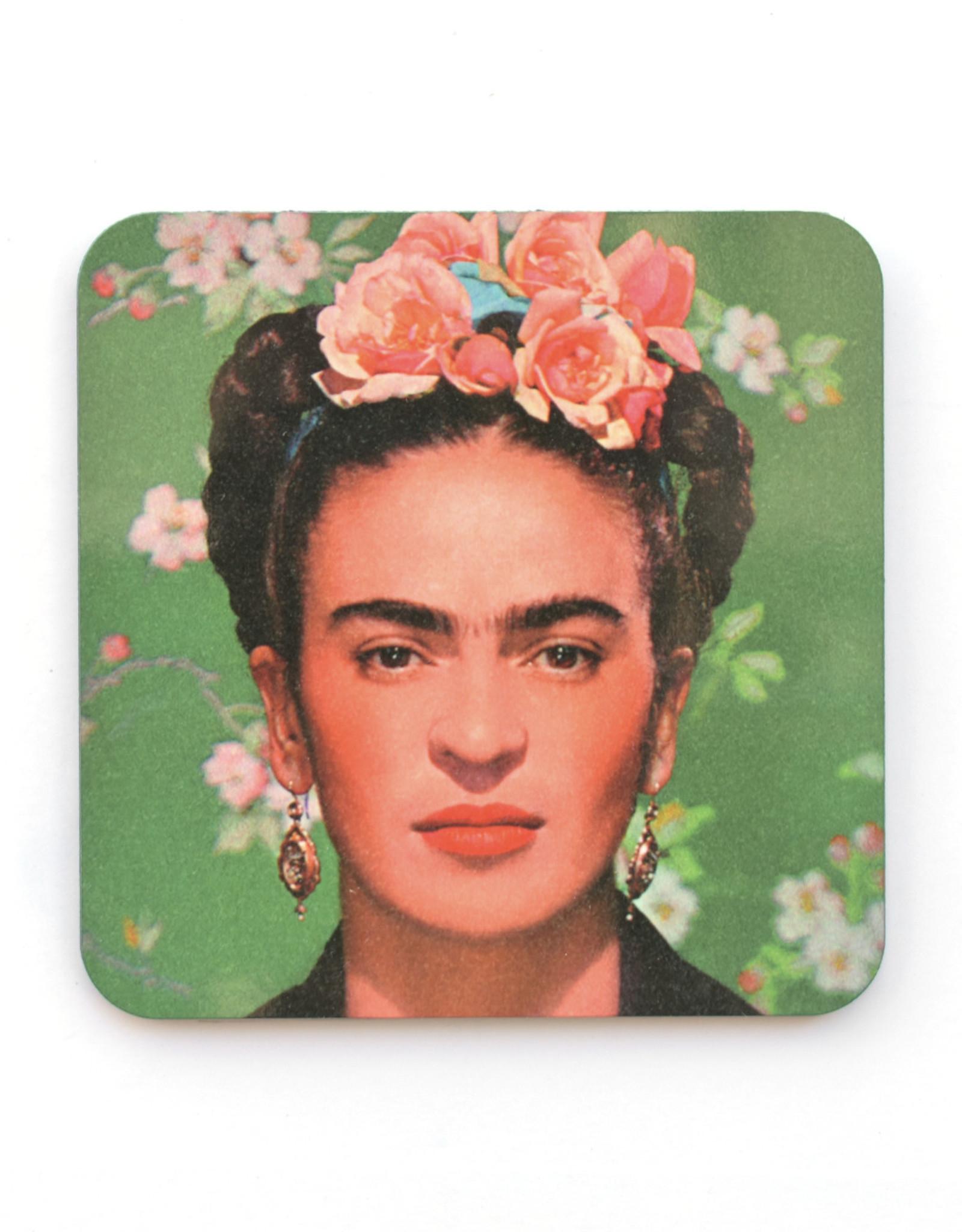 Green Frida Coaster