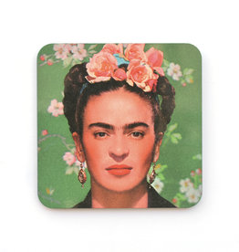 Green Frida Coaster