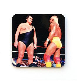 Andre the Giant VS Hulk Hogan Coaster