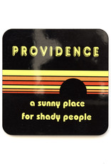Providence: A Sunny Place for Shady People Black Coaster