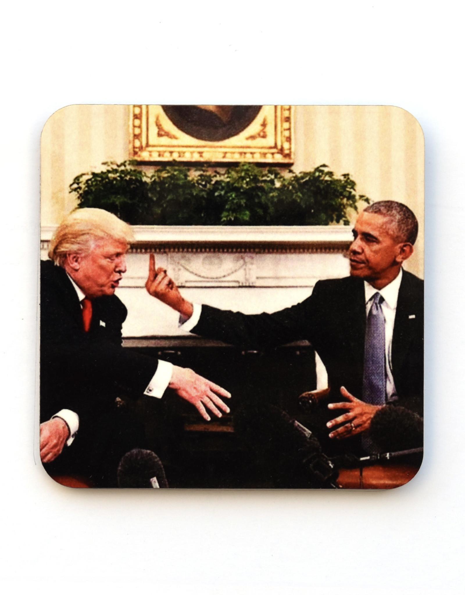 Trump Fingers Coaster