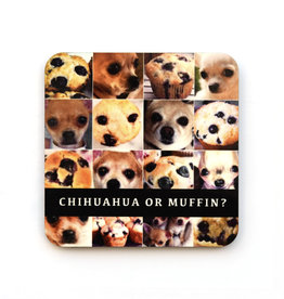 Chihuahua or Muffin? Coaster