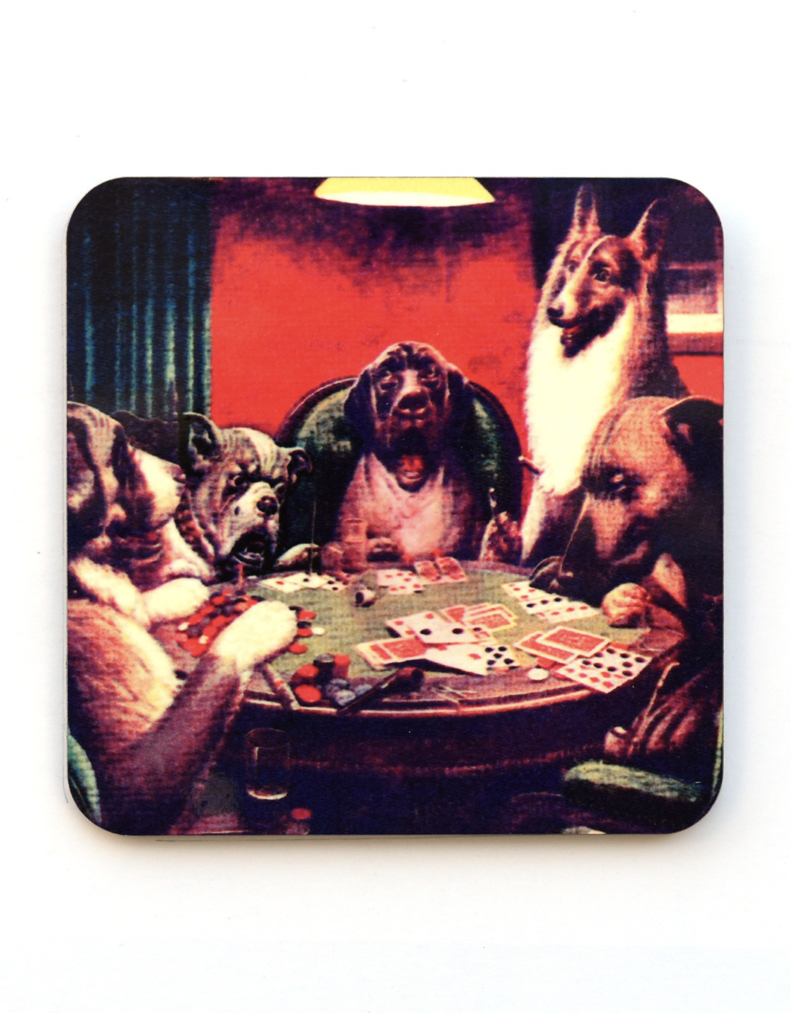 Dog Poker Coaster