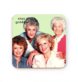 "Golden Girls ""Stay Golden"" Coaster"