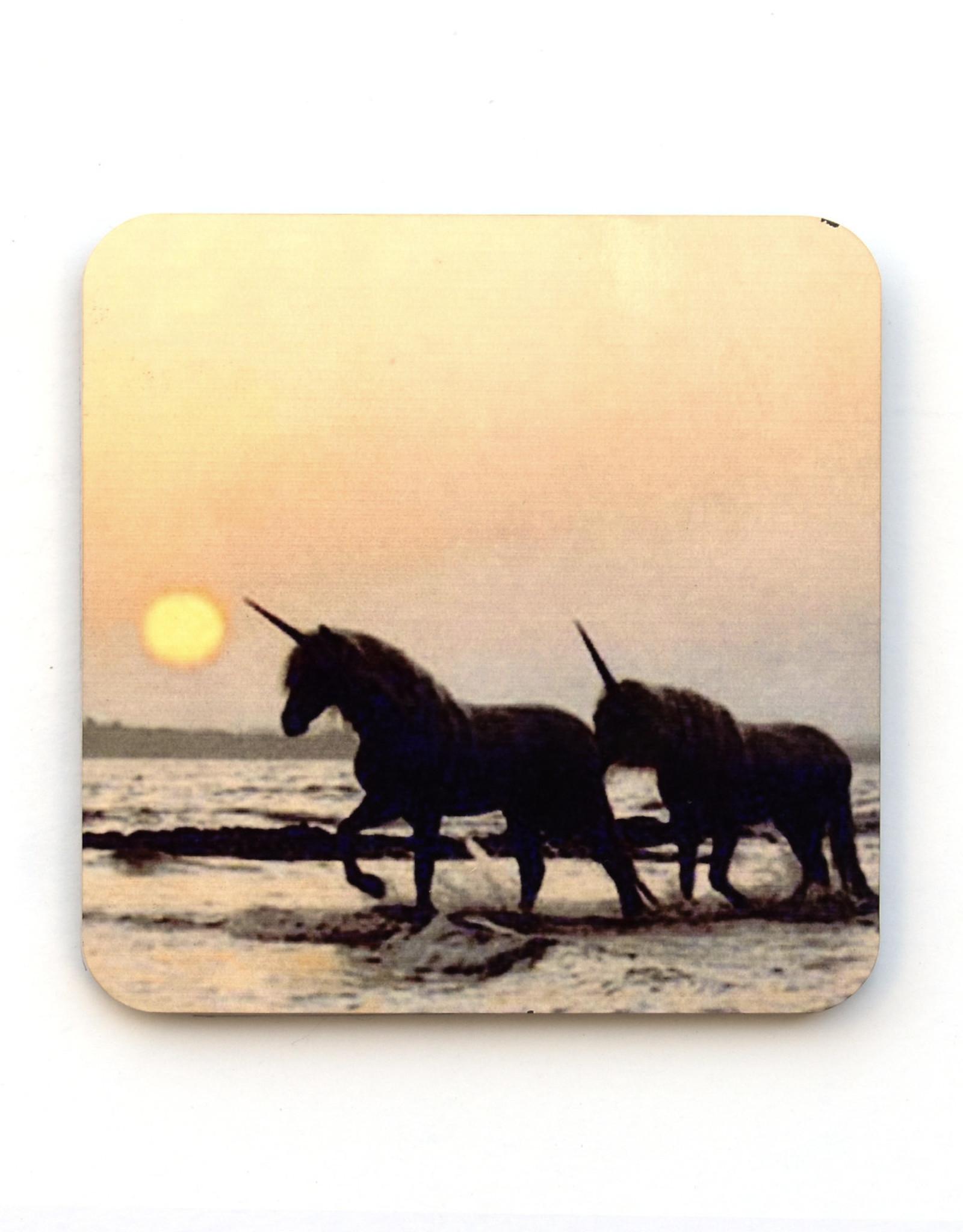 Beach Unicorns Coaster