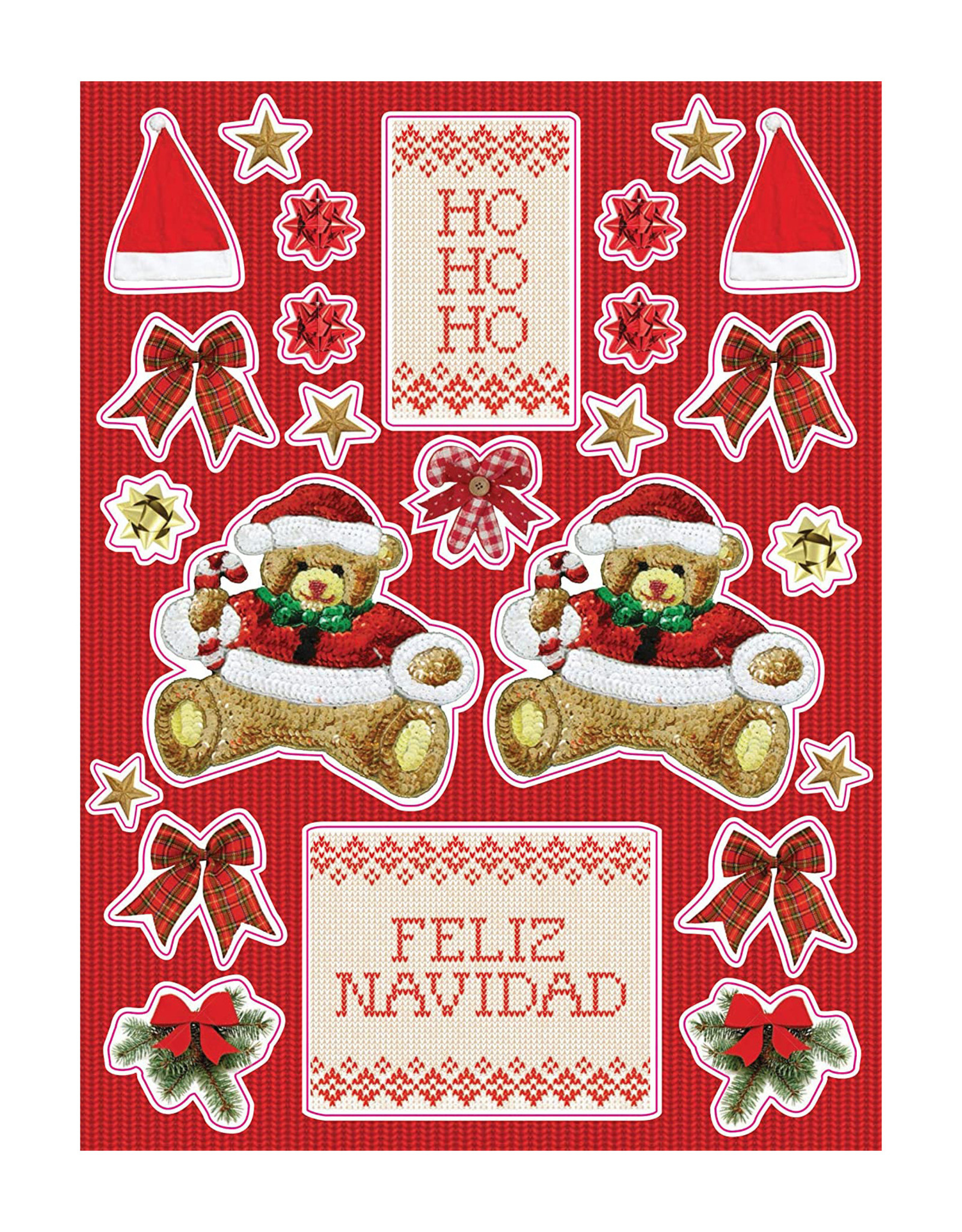 Tacky Christmas Sweater Notecards