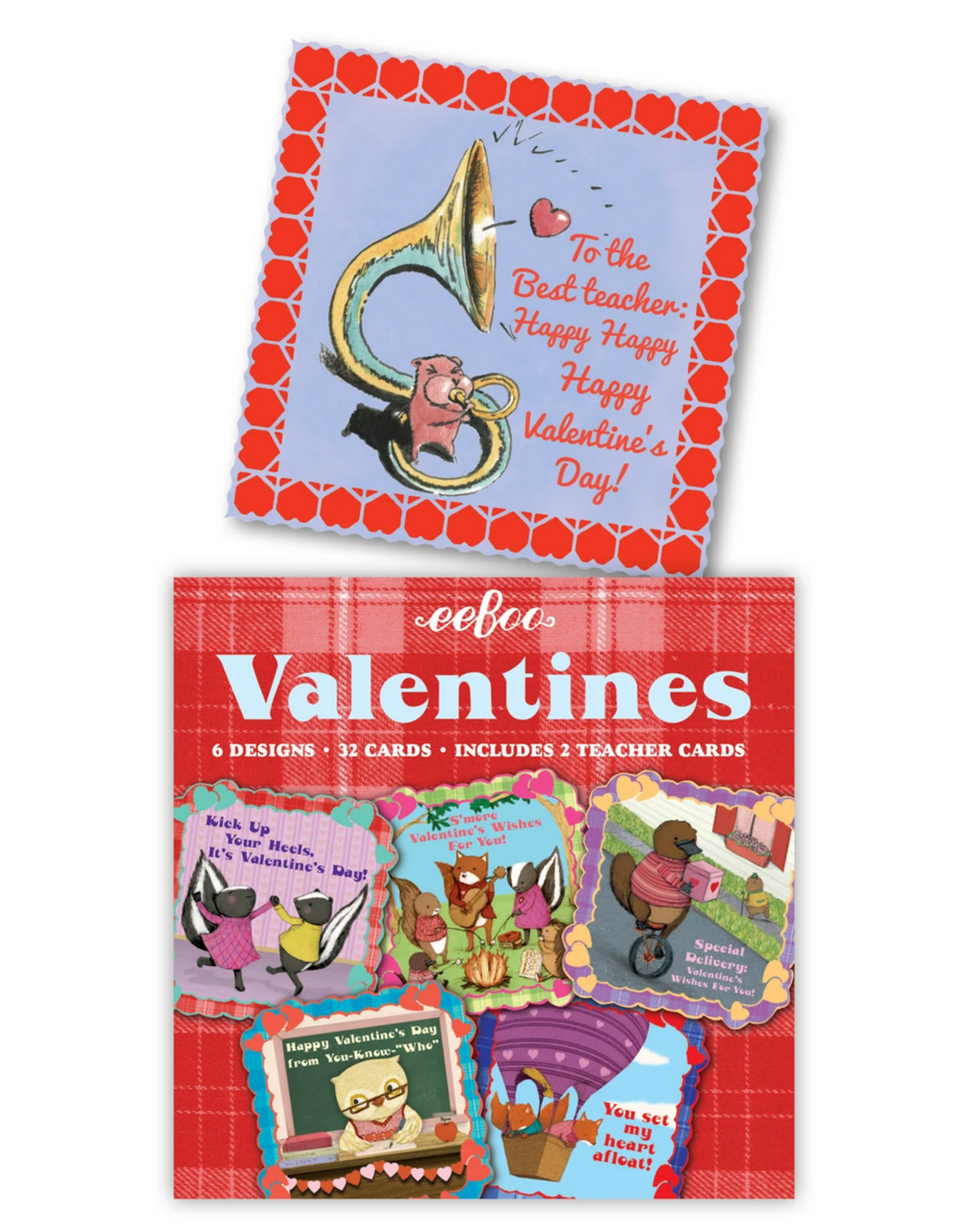 Animal Village Valentines