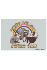 Support Your Local Street Cats Magnet
