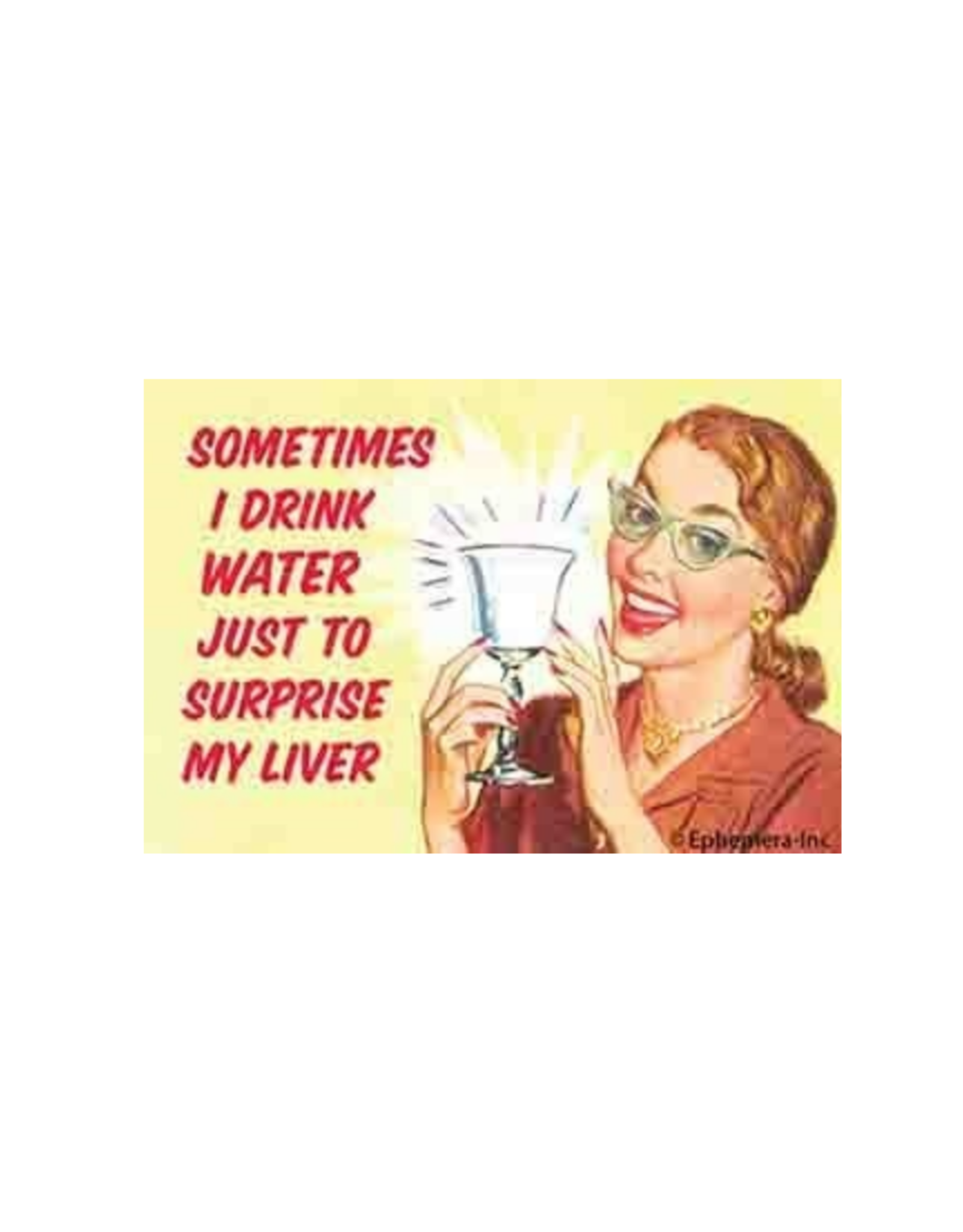 Sometimes I Drink Water... Magnet