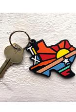 Texas State Keychain