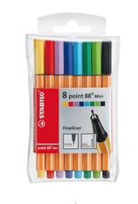 Stabilo Point 88 Mini Set of Fineline Pens