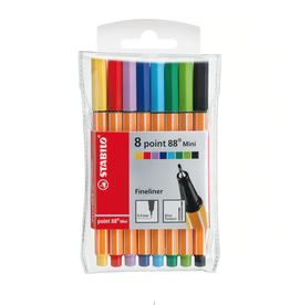 Stabilo Point 88 Mini Set of Fineline Pens