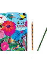 Zinnia 24 Color Pencils