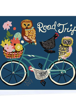 Road Trip (Bicycle) Greeting Card